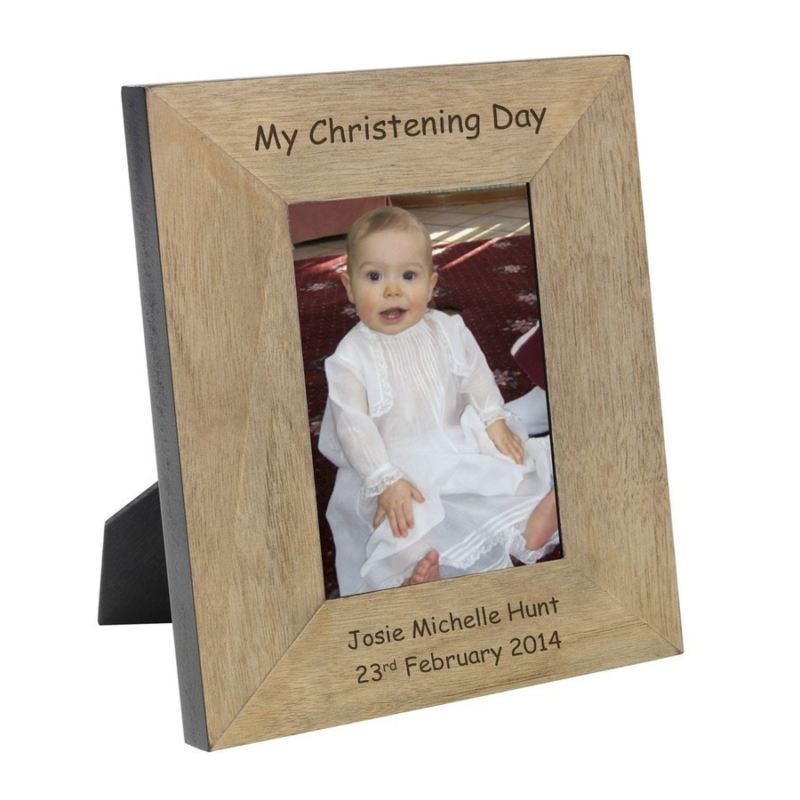 My Christening Day Wood Frame 6 x 4 product image