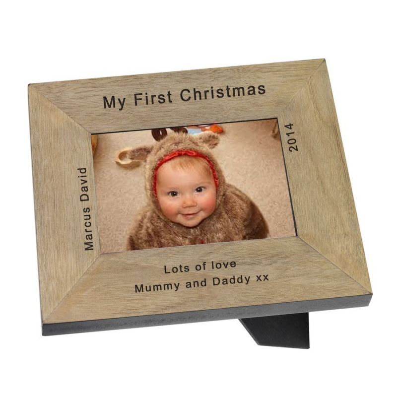 My First Christmas Wood Frame 6 x 4 product image