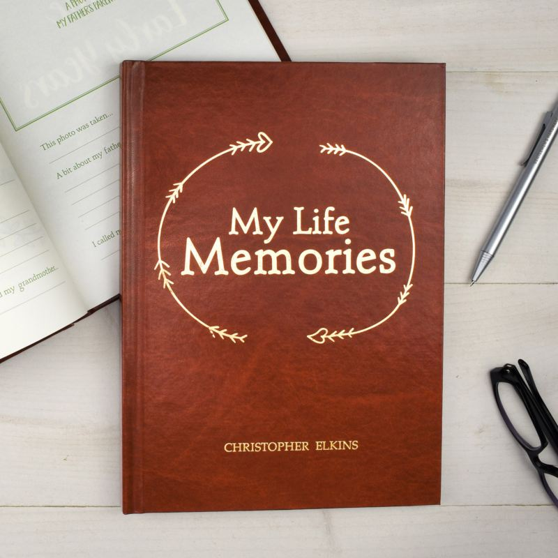 My Life Memories Personalised Journal product image
