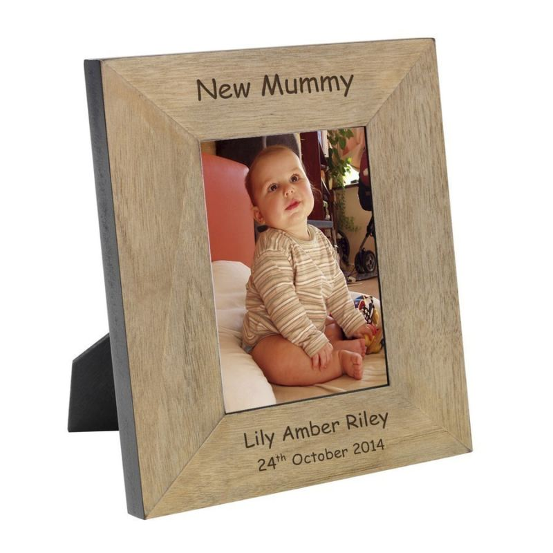 New Mummy Wood Frame 6 x 4 product image