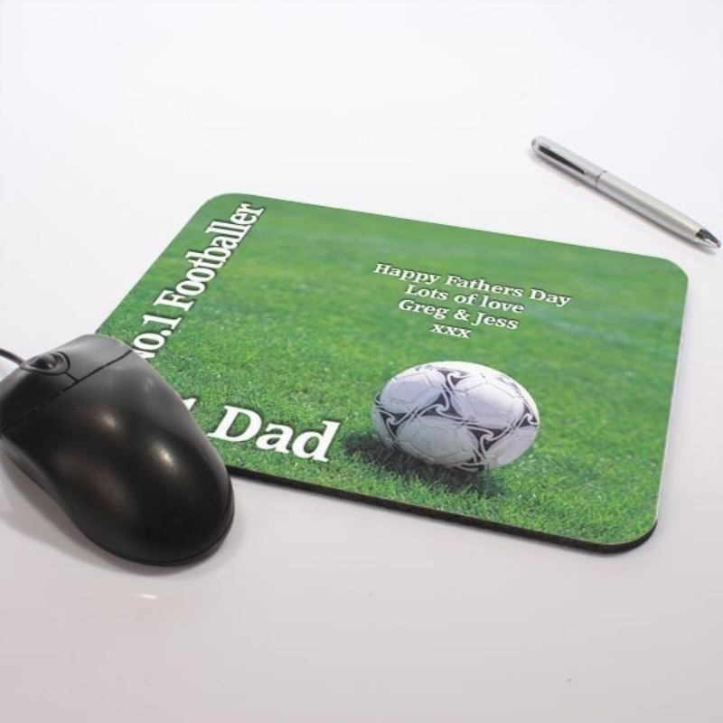No. 1 Footballer Mouse Mat product image