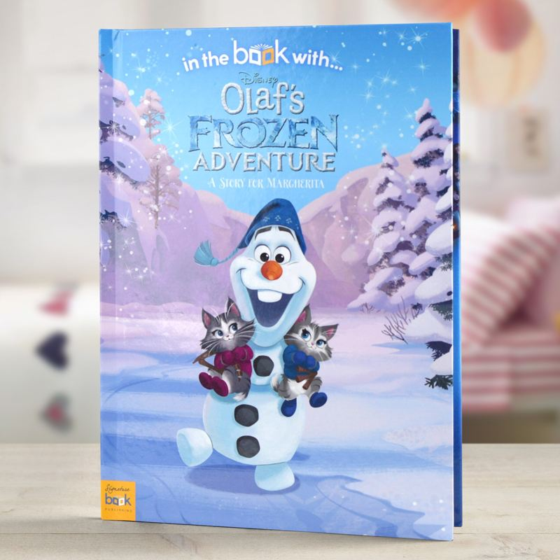 Olafs Frozen Adventure - Personalised Disney Story Book product image