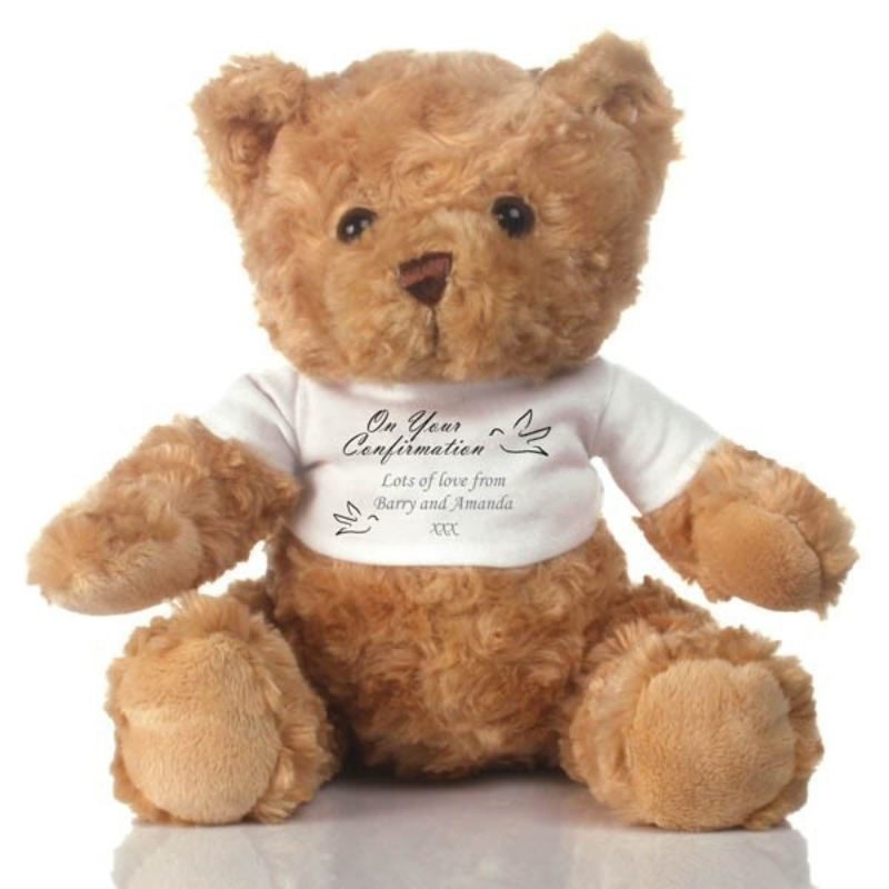 On Your Confirmation Personalised Teddy Bear product image