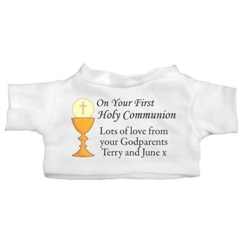 On Your First Holy Communion Personalised Teddy Bear product image