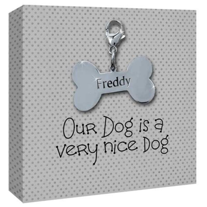 Our Dog Personalised Canvas Print product image