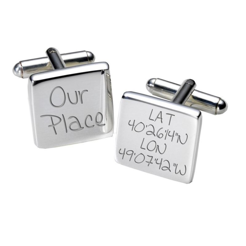 Our Place Cufflinks - Square product image