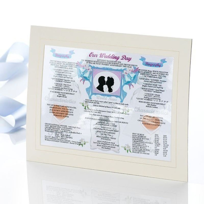 Our Wedding Day - 1st Anniversary product image