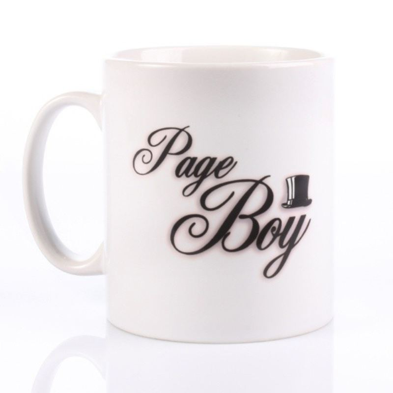 Page Boy Personalised Wedding Mug product image