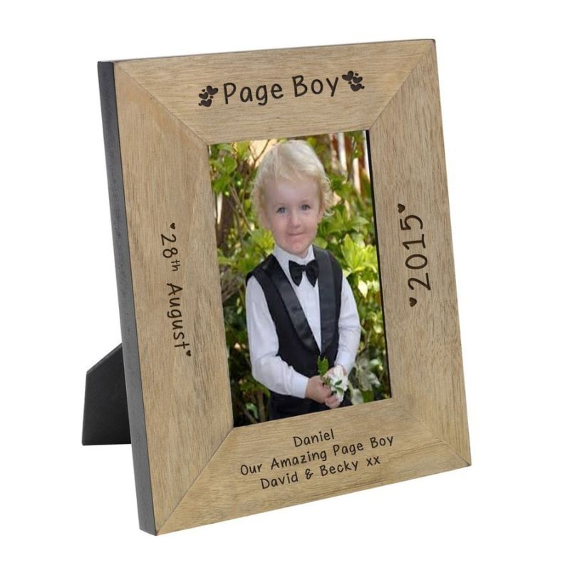 Page Boy Wood Frame 6 x 4 product image