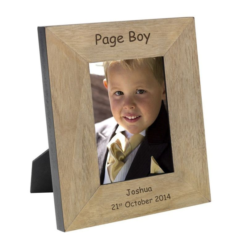Page Boy Wood Photo Frame 6 x 4 product image