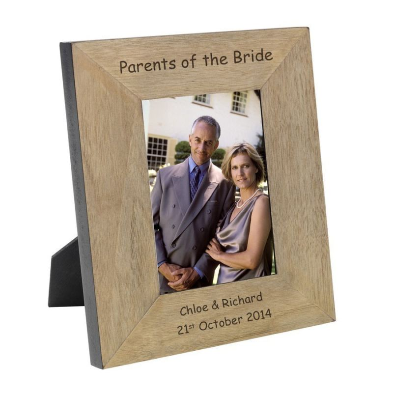 Parents of the Bride Wood Photo Frame 6 x 4 product image