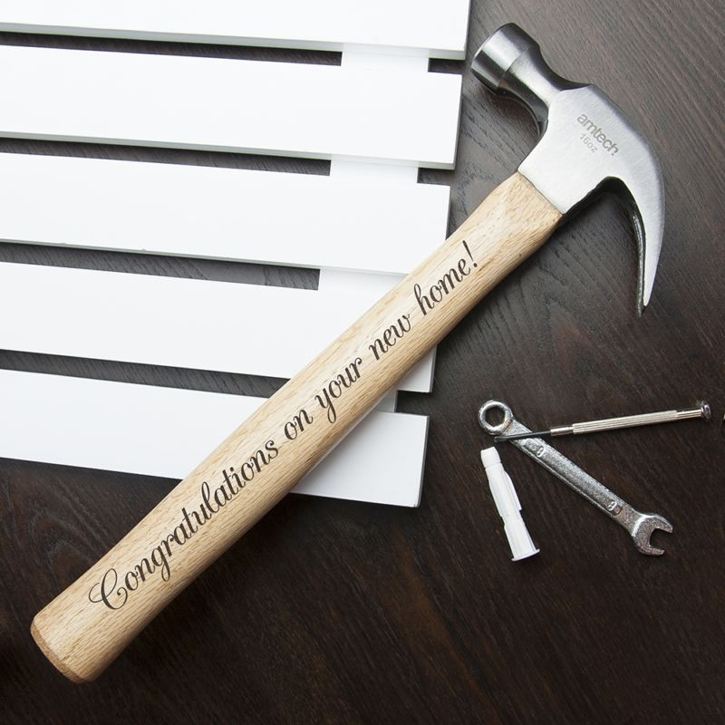 Personalised Wooden Hammer product image