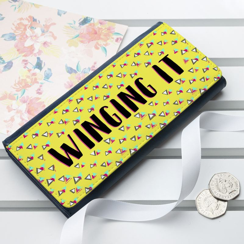 Personalised Back To The 80s Ladies Wallet product image