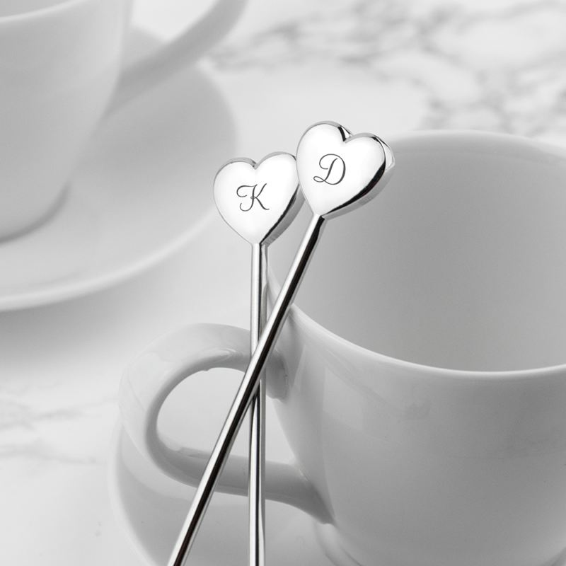 Personalised Heart Spoons product image