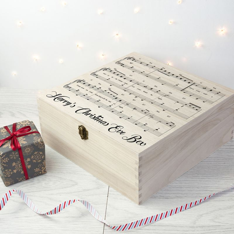 Personalised Have Yourself A Very Merry Christmas Eve Box product image