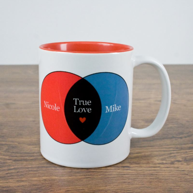 Mathematics Of Love Personalised Mug product image