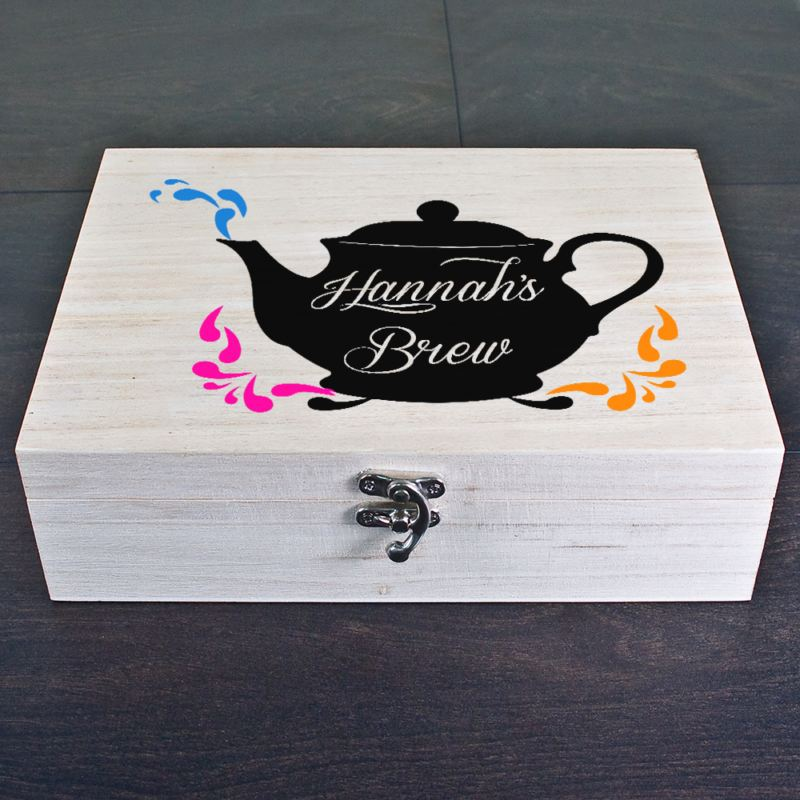 My Favourite Brews Personalised Tea Box product image