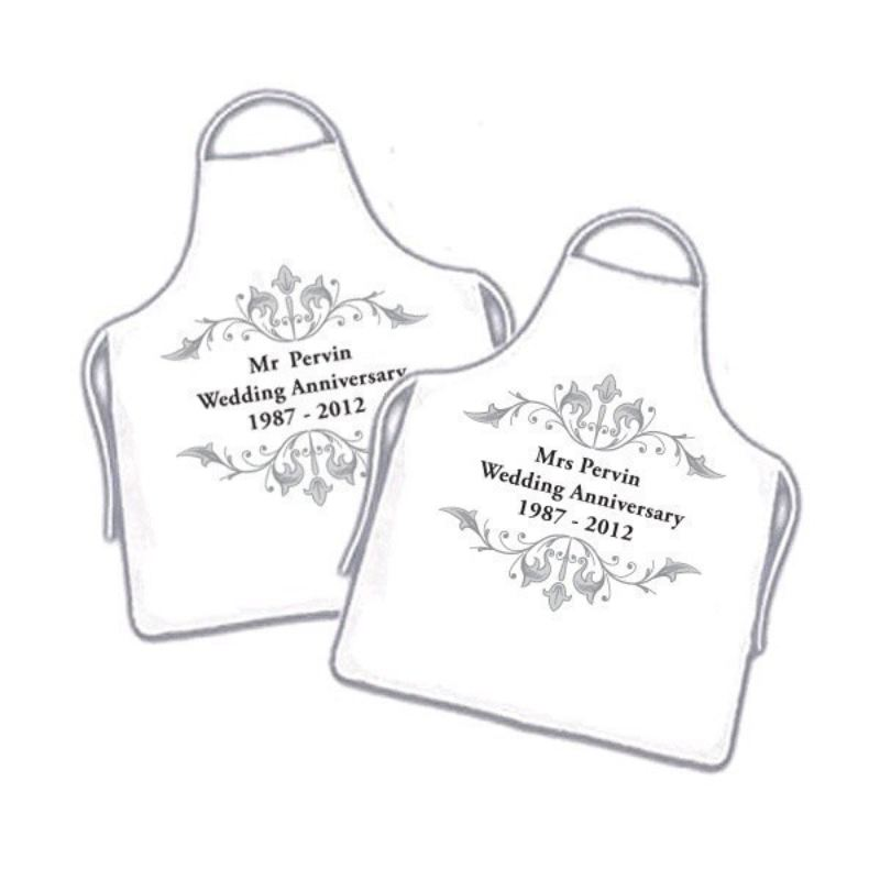 Personalised Anniversary Aprons product image
