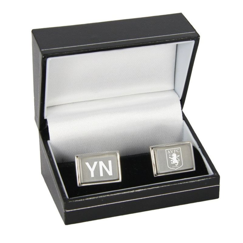 Personalised Aston Villa Football Club Cufflinks product image