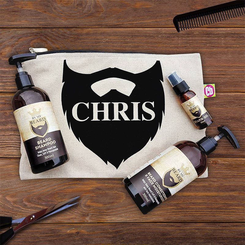 Personalised Beard Grooming Kit product image
