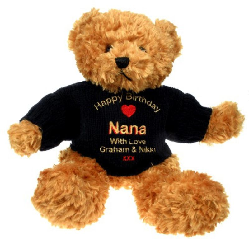 Personalised Birthday Teddy Bear: Nana product image