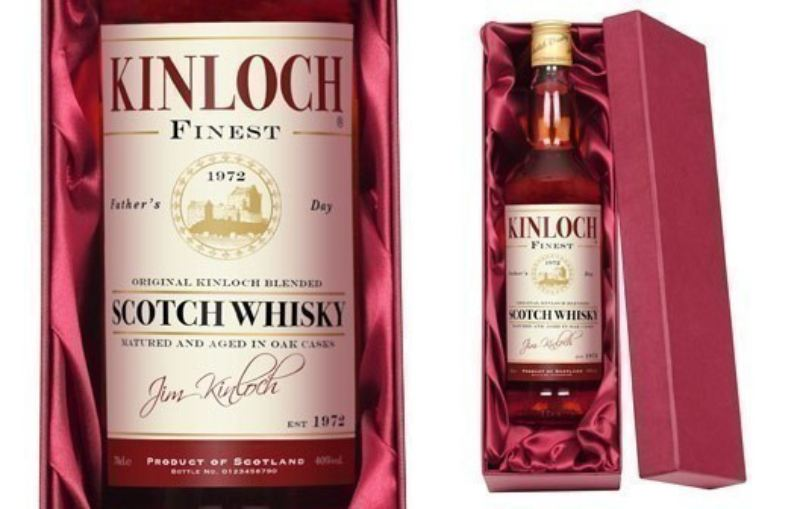 Personalised Blended Whisky with Father's Day Label product image