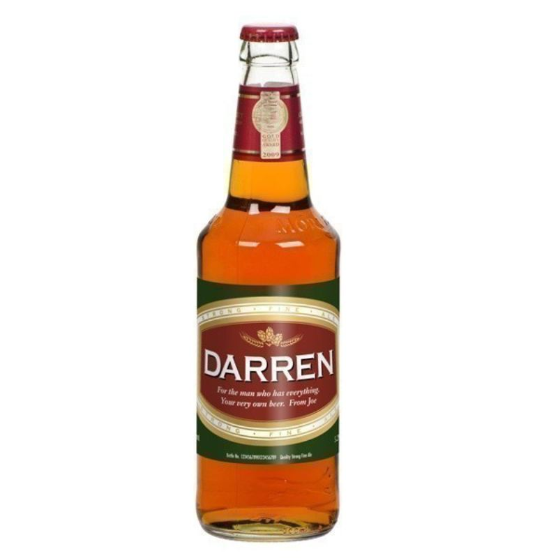Personalised Bottle of Beer product image