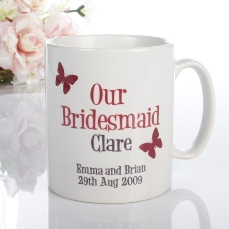 Personalised Bridesmaid Mug product image