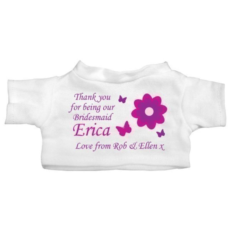 Personalised Bridesmaid Teddy Bear product image