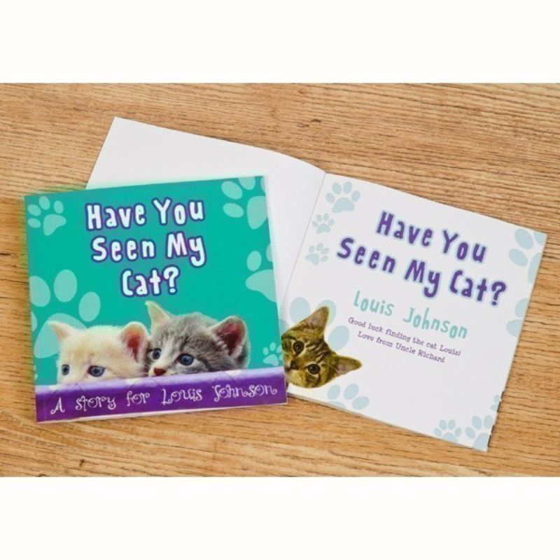 Personalised Children's Book, Have You Seen My Cat? product image