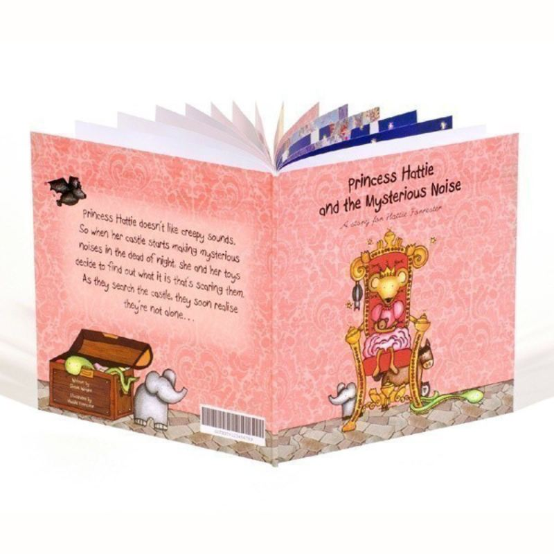 Personalised Children's Book, The Princess and the Mysterious Noise product image