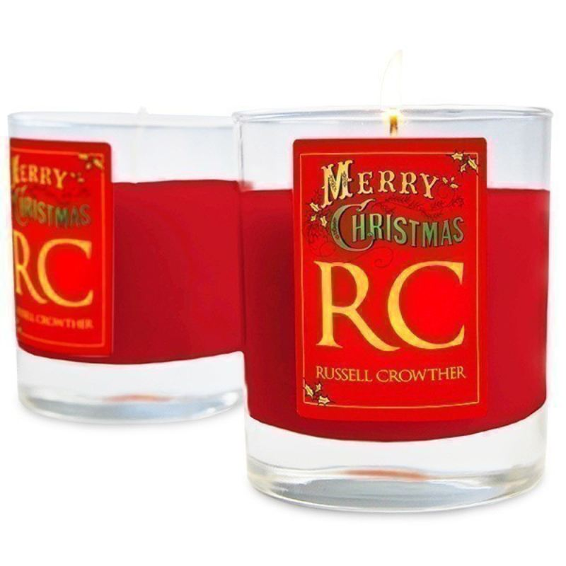 Personalised Christmas Candles product image