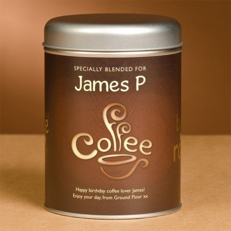 Personalised Coffee - Coffee Bean Design product image