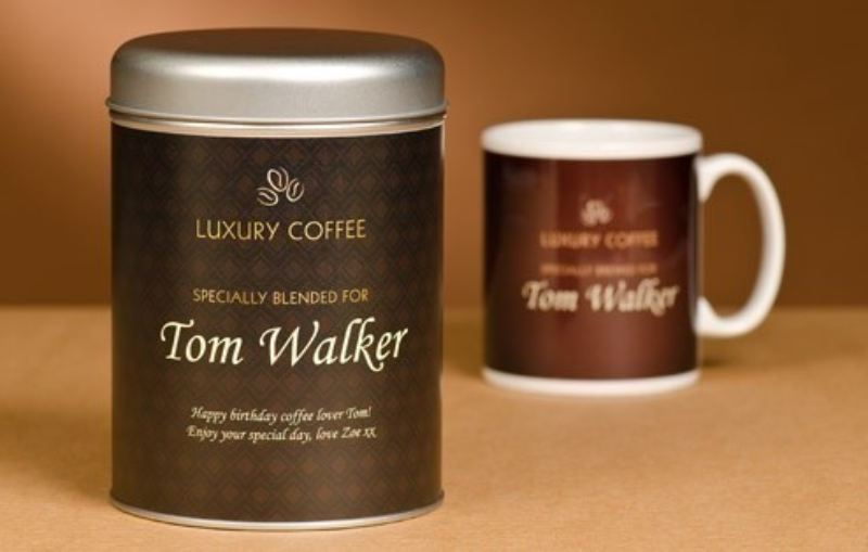 Personalised Coffee Lovers' Set - Traditional product image
