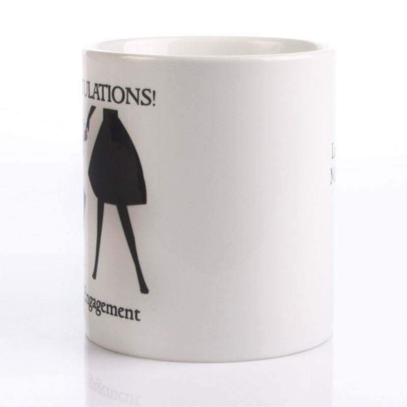 Personalised Engagement Mug product image