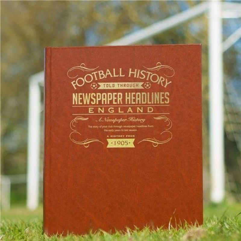 Personalised England International Football Book product image