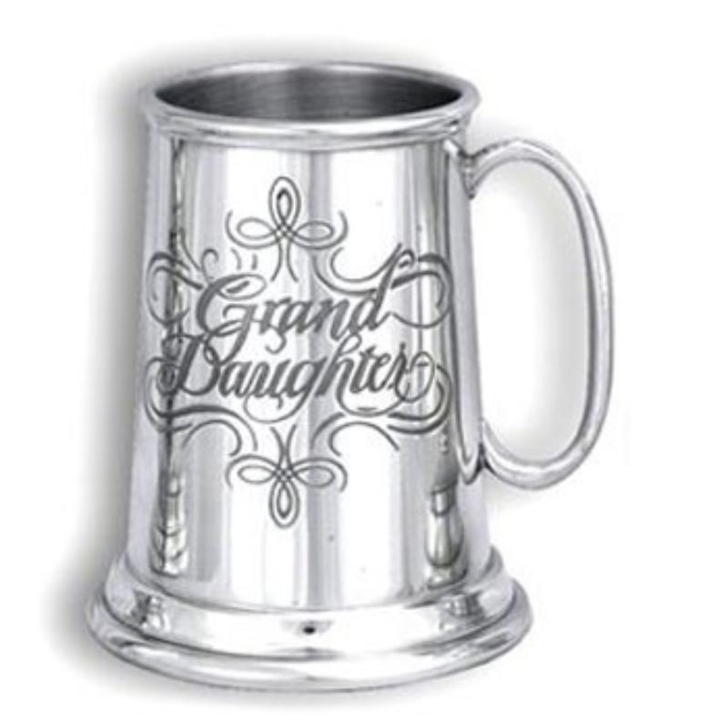 Personalised Engraved Pewter Granddaughter Tankard product image
