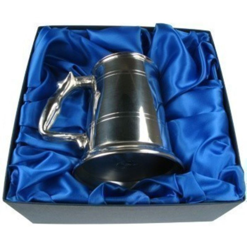 Personalised Engraved Pewter Nymph Handle Tankard product image