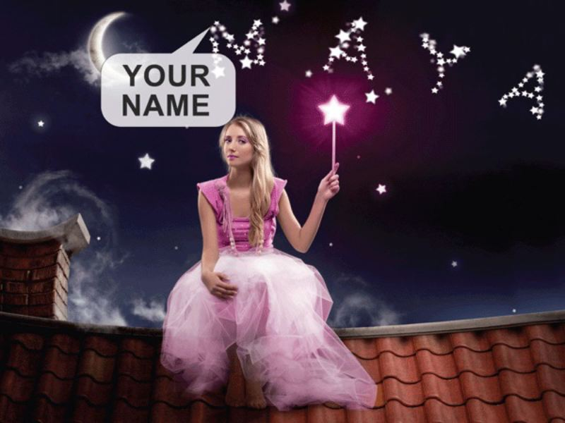 Personalised Fairy Framed Poster product image