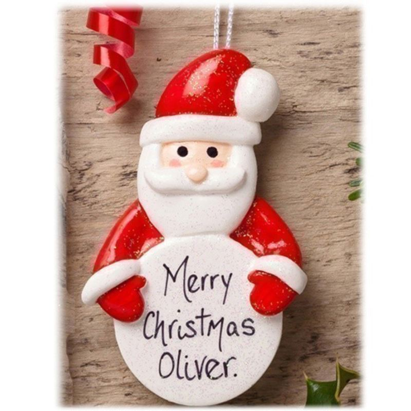 Personalised Father Christmas Tree Ornament product image