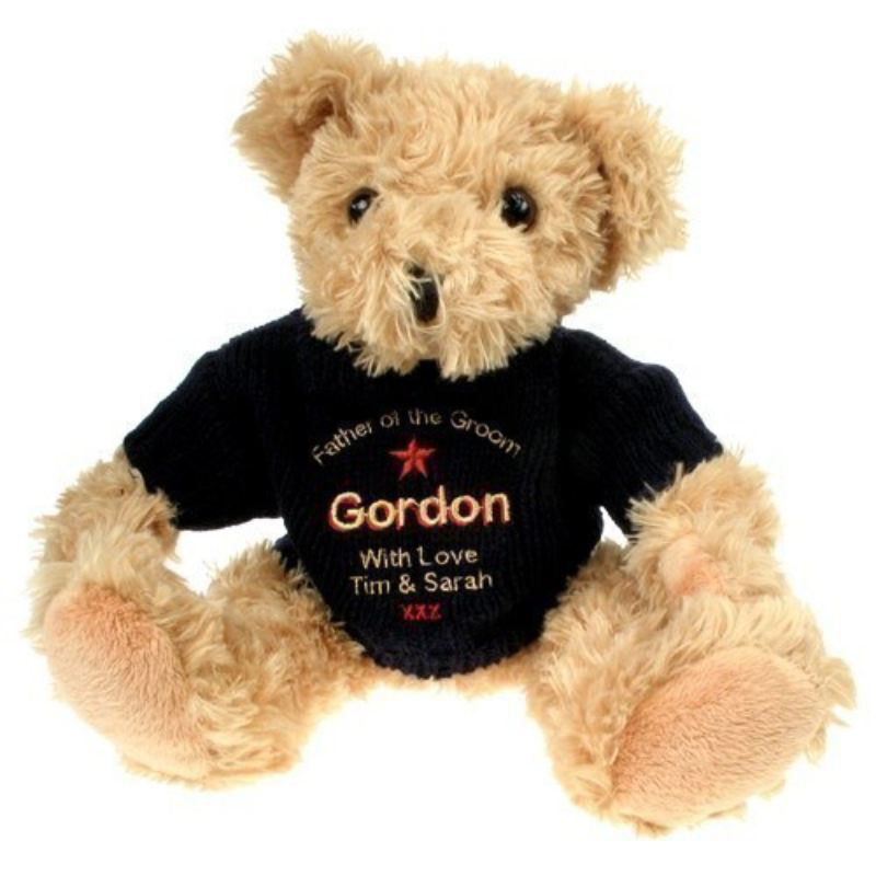 Personalised Father of the Groom Teddy Bear product image