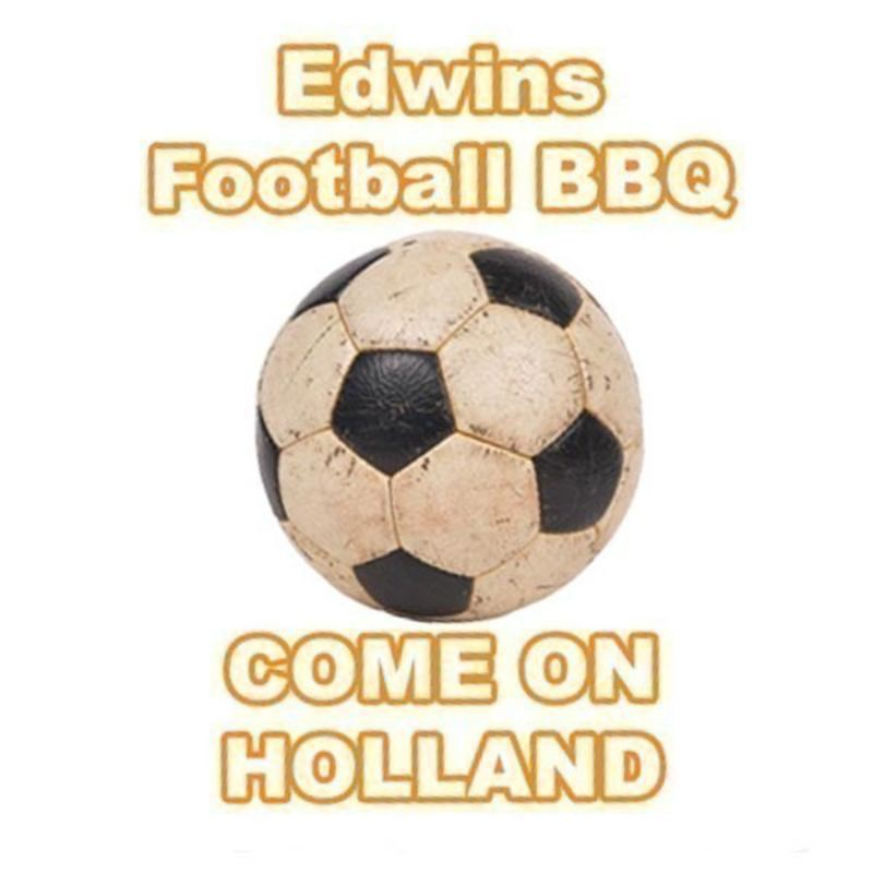 Personalised Football BBQ Apron product image
