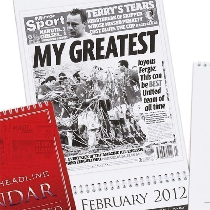 Personalised Football Calendar product image