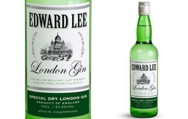 Personalised Gin with Generic Label in Premium Silk Box product image