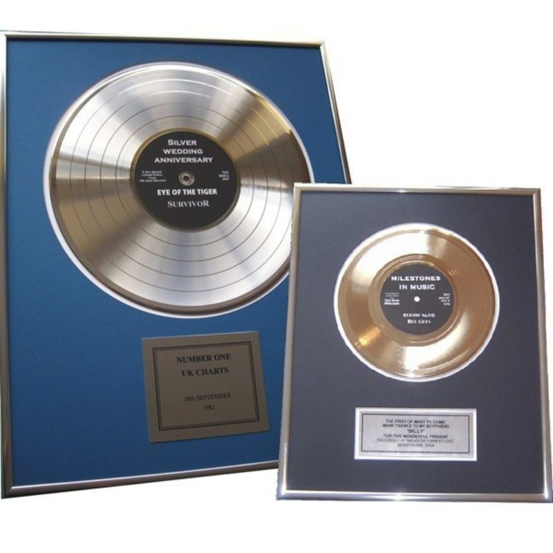 Personalised Gold Disc product image
