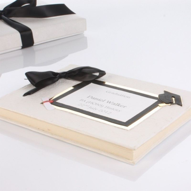 Personalised Handmade Graduation Album product image