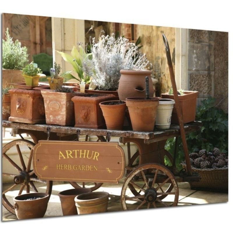 Personalised Herb Garden Framed Poster product image