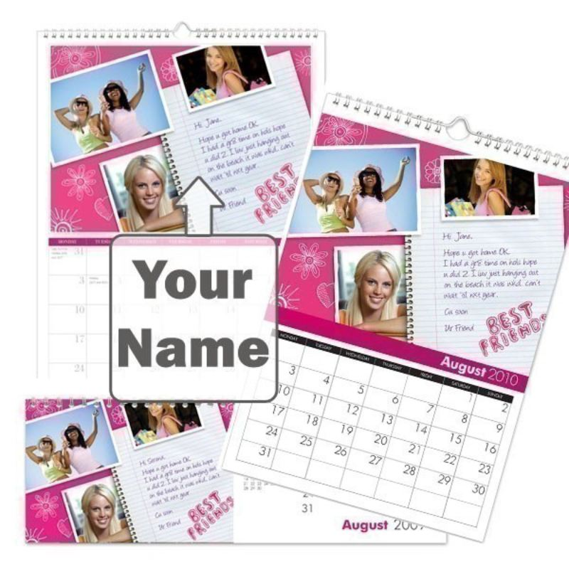 Personalised High School Cool Calendar product image