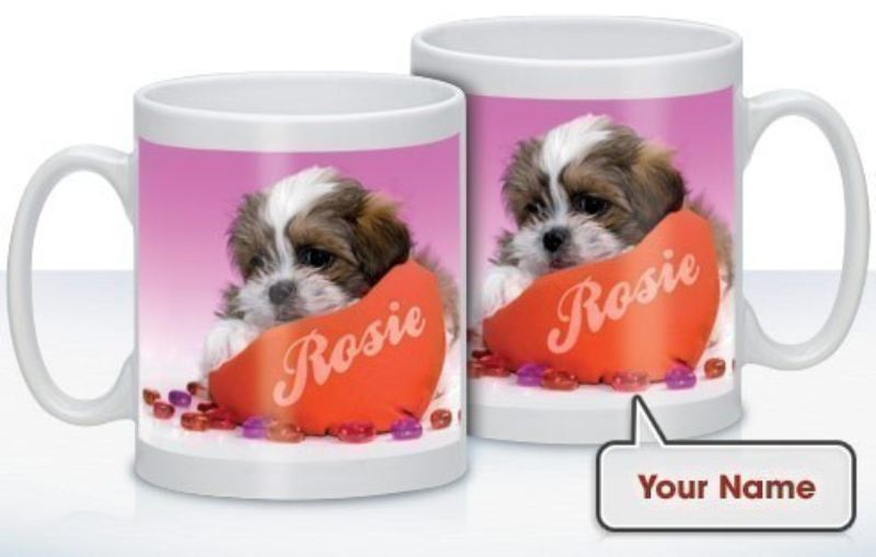 Personalised Love Puppy Mug product image