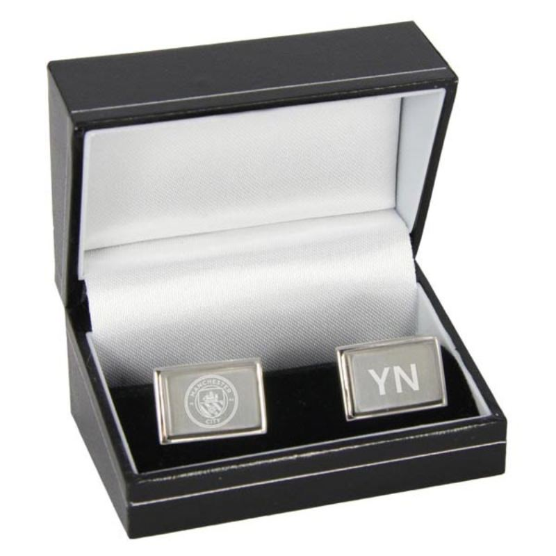 Personalised Manchester City Cufflinks product image